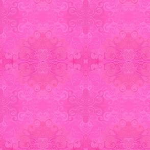 pink swirl retro