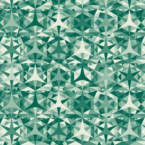 Kaledeisccope - emerald ombre