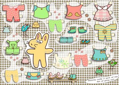 kato's paper dolls