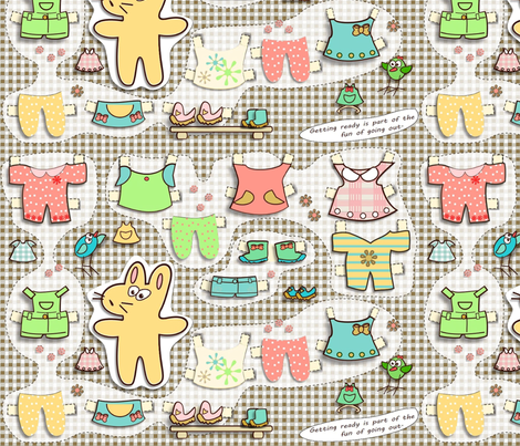 kato's paper dolls fabric by kato_kato on Spoonflower - custom fabric