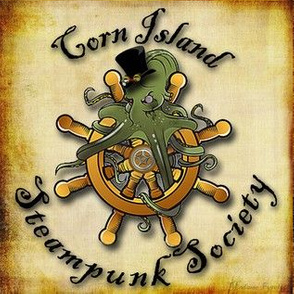 Corn Island Steampunk Society Logo