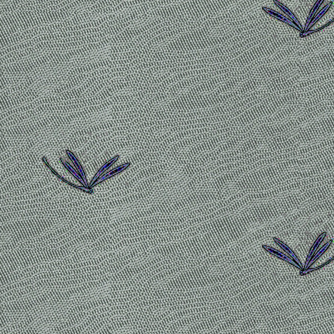 currents - silver, purple jewels fabric by materialsgirl on Spoonflower - custom fabric