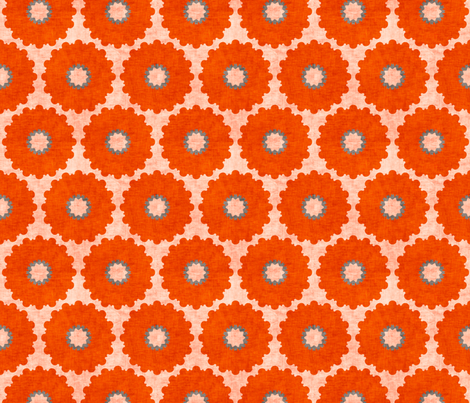 vintage_coralpop fabric by holli_zollinger on Spoonflower - custom fabric