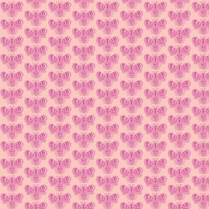 BeeHappy - sm - rose & duty pink