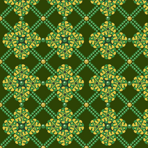 Pea Geometric  Pattern