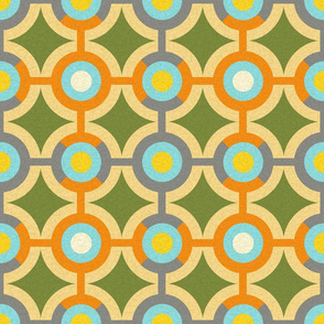 Modern Geometric Ornament