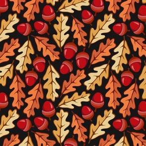Acorns and Oak Leaves Ornament