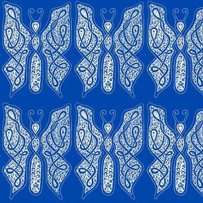 ButterflyDancer - xl - cobalt blue reverse