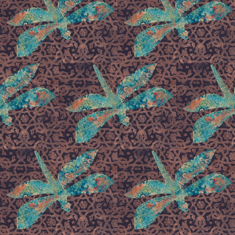 dragonflycollage fabric by timaroo on Spoonflower - custom fabric
