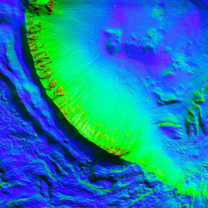 1_Bright_Gully_Deposits_on_Mars-full