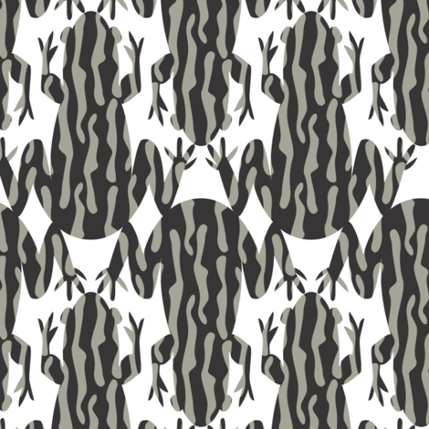 corroborree_frog fabric by marinaraedesigns on Spoonflower - custom fabric