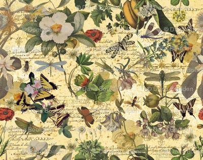 botanical-print-gold