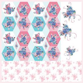 The Pink Princess Frog Pillow