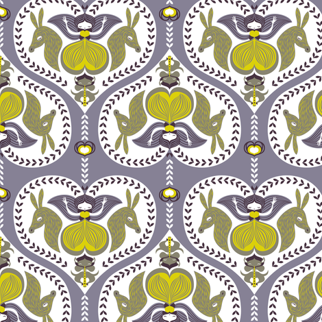 midsummernight fabric by gaiamarfurt on Spoonflower - custom fabric