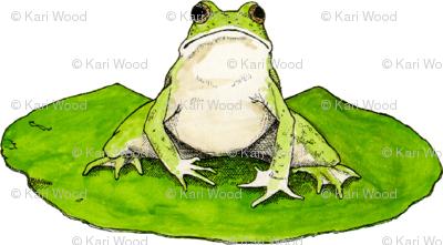 Jumbo the Lilypad Frog