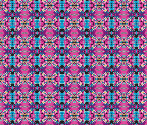 Abstract Pastel Kaleidoscope fabric by ravynscache on Spoonflower - custom fabric