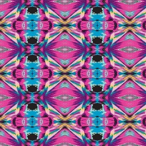 Abstract Pastel Kaleidoscope