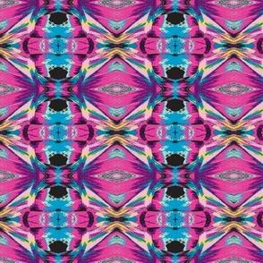 Abstract Pastel Kaleidoscope