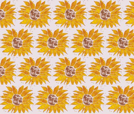sunflower-1-ch fabric by timaroo on Spoonflower - custom fabric
