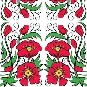 Mirrored Poppy