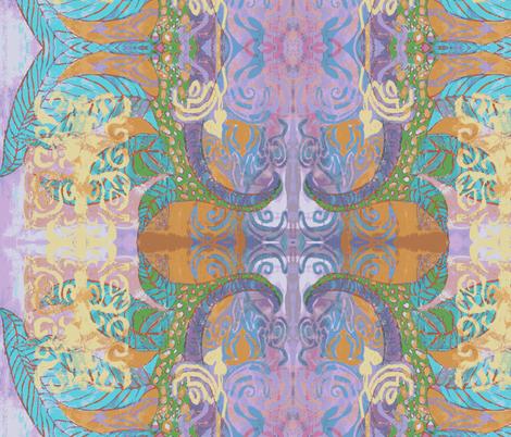 Gjeth Persian fabric by albanianflower on Spoonflower - custom fabric