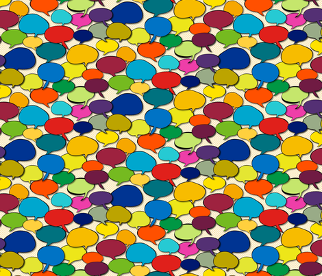Colors Speak To Me fabric by lavaguy on Spoonflower - custom fabric