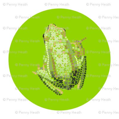 Green Frog Dots