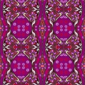 Purple Wine Flower Power