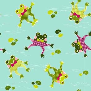 Froggy Swim-swim