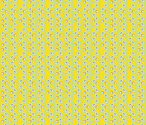 mod_flower_jaune_S fabric by nadja_petremand on Spoonflower - custom fabric