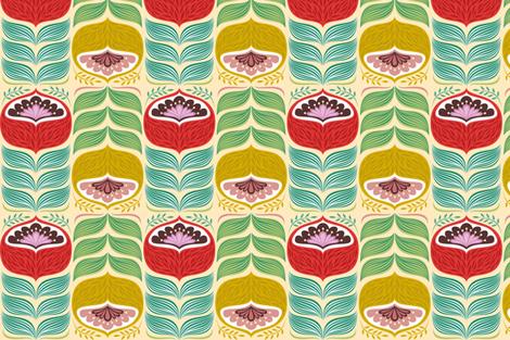 bigflower fabric by gaiamarfurt on Spoonflower - custom fabric