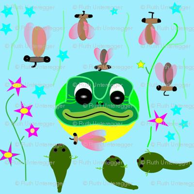Frog, Tadpoles and Moskitos