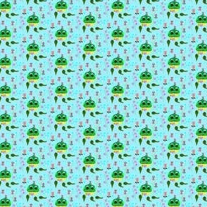 Frog, Tadpoles and Moskitos