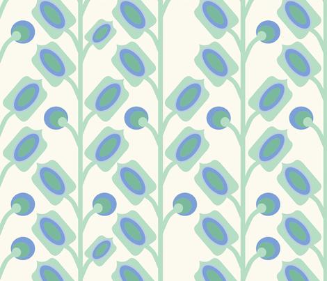mod_flower_vert_L fabric by nadja_petremand on Spoonflower - custom fabric