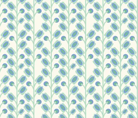 mod_flower_vert_M fabric by nadja_petremand on Spoonflower - custom fabric