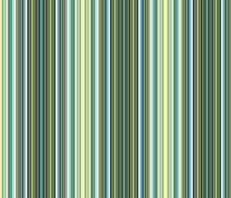 Black-veined Green ticking fabric by rwpattern on Spoonflower - custom fabric