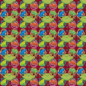Froggy bubbles