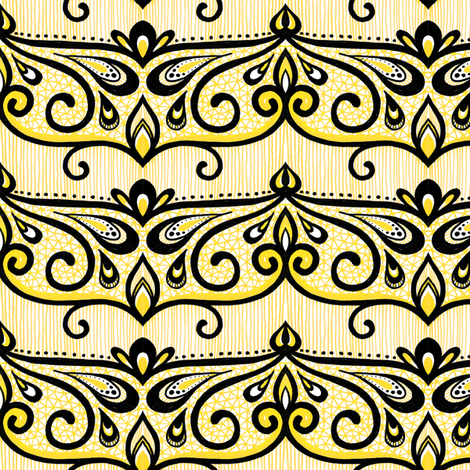 Elodie fabric by siya on Spoonflower - custom fabric