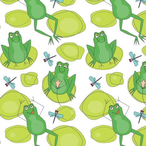 Swamp Romp fabric by lily_studio on Spoonflower - custom fabric