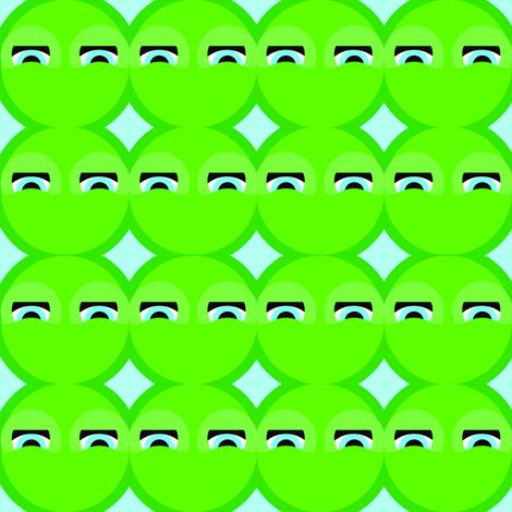 Lilypad_Picnic_Sample_Repeat_8x8_designed_by_Lori_Ann_Herrala_of_Sanctuary9Design_copy fabric by sanctuary9design on Spoonflower - custom fabric