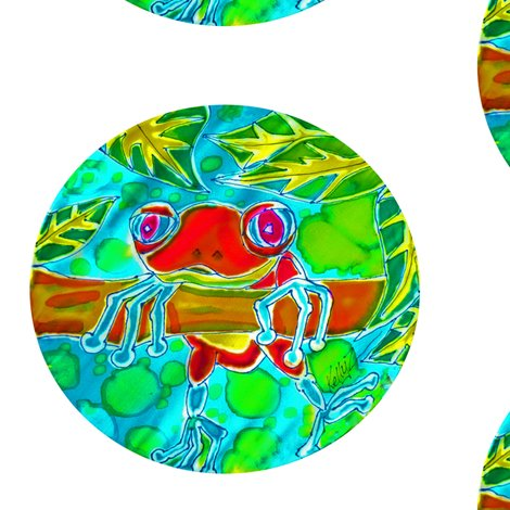 Rrrred_frog_hangin__bubble_shop_preview