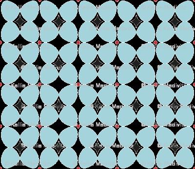 Mod Flora {White/Blue}
