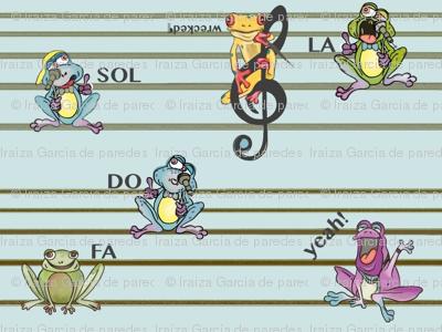 Frogs Y-Tunes