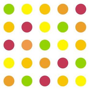 Citrus Polka Dot