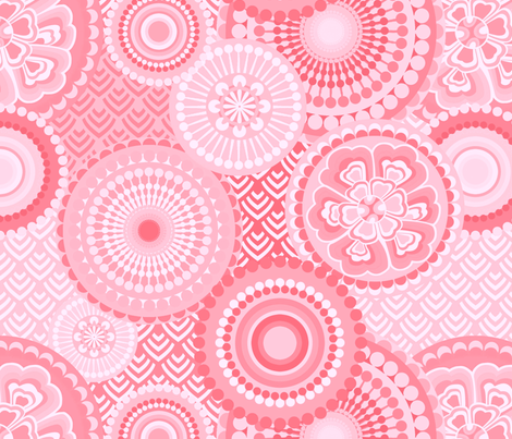 eclectic_flowers Baby 03 fabric by chicca_besso on Spoonflower - custom fabric