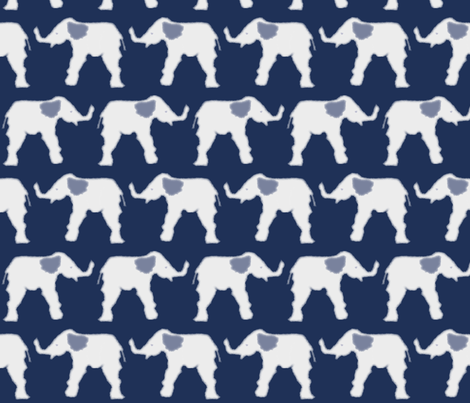 Cloud Ellie  fabric by loopy_canadian on Spoonflower - custom fabric