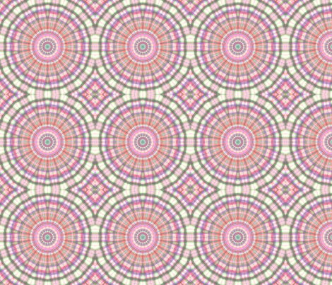 Pink Blended Rays fabric by koalalady on Spoonflower - custom fabric