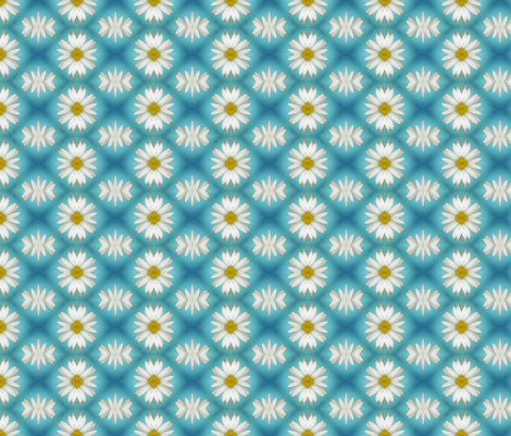 Daisy  - small fabric by koalalady on Spoonflower - custom fabric