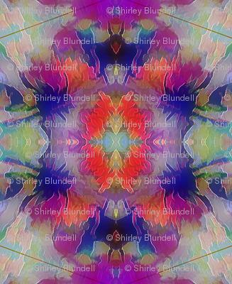 Flowers  Abstract Kaleidoscope