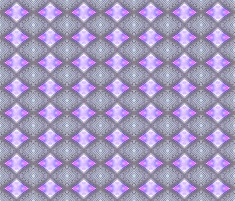 diamonds - mauve fabric by koalalady on Spoonflower - custom fabric